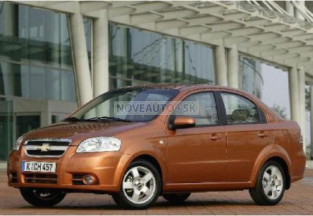 CHEVROLET Aveo  1.2 8v Base (sedan) - (Fotografia 3 z 6)