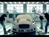 Ako končí hlinená predloha nového XF v Jaguari? Ako všade inde - zničením