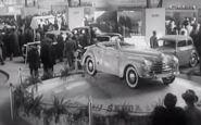Ako to vyzeralo na 1. povojnovom autosalóne v Prahe v r1947