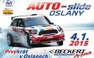 Auto-slide 2015 prvýkrát v Oslanoch