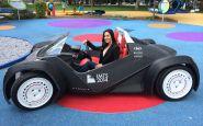Auto z 3D tlačiarne už jazdí...