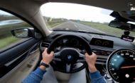 BMW M760Li na diaľnici dosiahne takmer 320 km/h