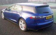 Briti postavili Tesla Model S shooting brake