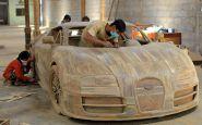 Bugatti Veyron za pár tisíc? Nie je problém, ale bude z dreva