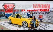 CAR FANS CUP PARTY Lehnice 8. a 9. september 2017