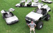 DeLorean ako Monster Truck, limuzína, či dokonca vznášadlo?