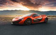 Dychberúce fotky McLarenu P1 z Death Valley