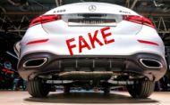 Falošné výfuky neobišli ani autosalón v Paríži
