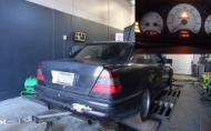Koľko koní stratil Mercedes C43 AMG za 200$?