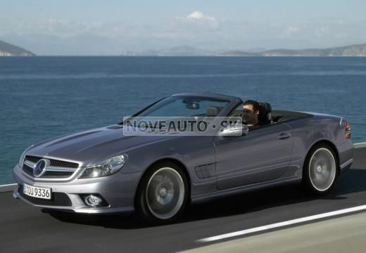 Mercedes benz sl class sl 350 sportmotor roadster for Benz sport katalog