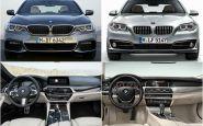Nájdi 10 rozdielov: Dizajn BMW radu 5 F10 vs. G30