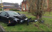 Nešťastie, alebo blbosť? McLaren 650S rozbil 10 minút po kúpe