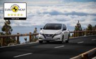 Nový Nissan Leaf získal 5 hviezdičiek Euro NCAP