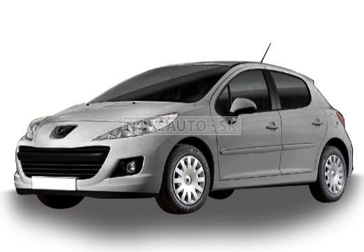 peugeot 207 1 4 hdi fap active hatchback poskladan. Black Bedroom Furniture Sets. Home Design Ideas