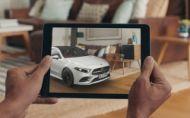 Rozšírená realita Mercedes-Benz ponúkne 3D zobrazenie modelov