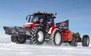 S traktorom na južný pól? Pre Holanďanku žiadny problém.