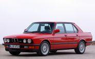 Spomeňme si na druhé BMW radu 5 (E28 1981-1987)