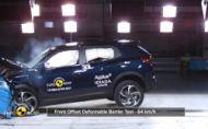 SsangYong Korando Euro NCAP skúšky zvládol na plný počet hviezd
