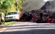 Starši Ford Mustang doslova pohltila ničivá láva!