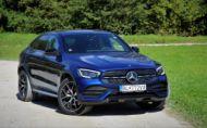 Tento týždeň testujeme: Mercedes-Benz GLC 300 4Matic kupé