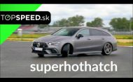 Test Mercedes-AMG CLA45s Shooting Brake - kompaktný rekordér