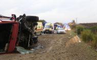 Tragická nehoda autobusu a kamióna pri Nitre