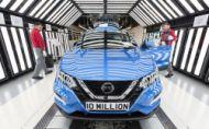 V továrni Nissan Sunderland vyrobili už 10 miliónov áut