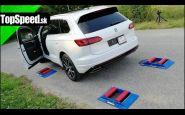VW Touareg 4x4 test inteligencie pohonu